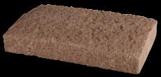 Wall cap dark brown