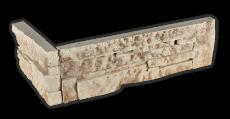 Stone beige brown - Eckstück