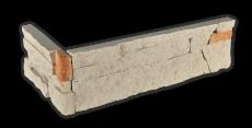 Stone beige - Eckstück