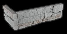 Stone grey - Eckstück