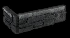 Stone black - Eckstück