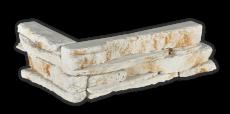 Povazan white - Eckstück