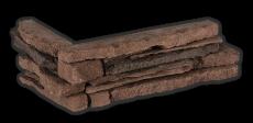 Povazan brown - Eckstück