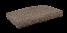 Pillar cap lodge brown